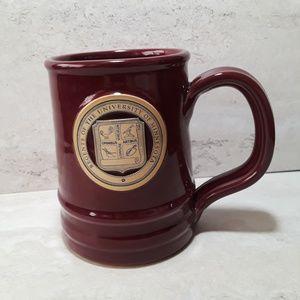 U of M Deneen Pottery Regents Seal Tankard Mug